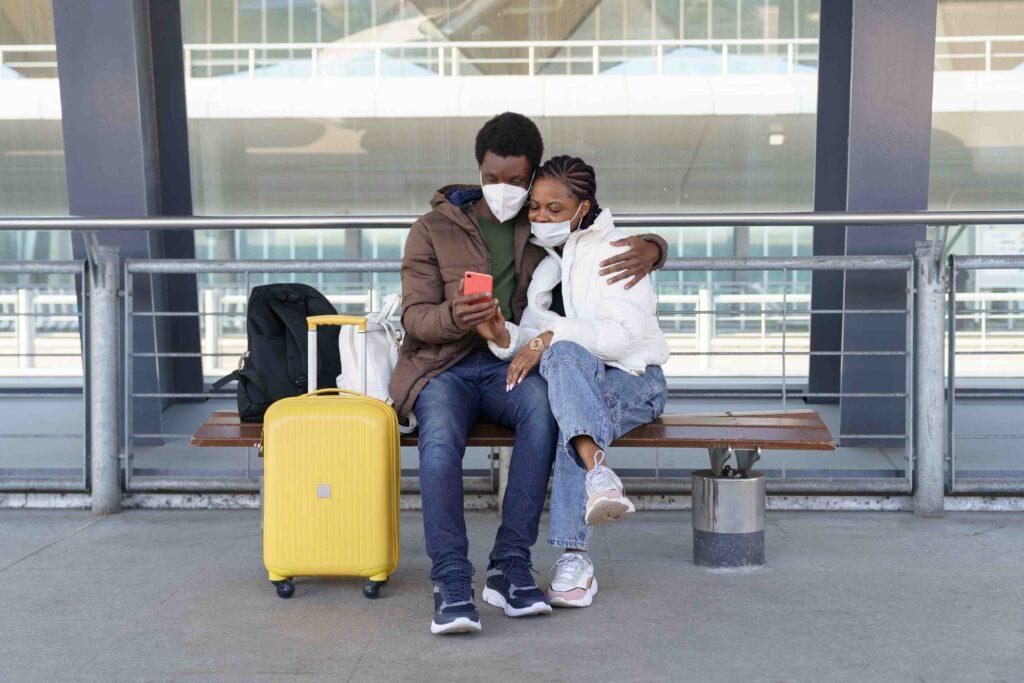 Airport Transfer Ruedesheim black couple